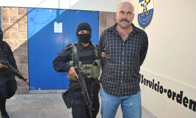 An alleged Texis Cartel member arrested in October 2012