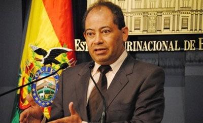 Bolivia Interior Minister Carlos Romero