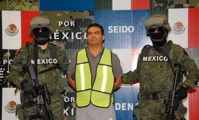 Alleged Sinaloa Cartel member Jesus Alfredo Salazar
