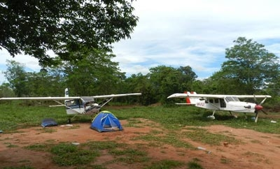 2 planes seized in Paraguay