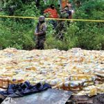 Honduras seized a record haul of 15 tons of drugs