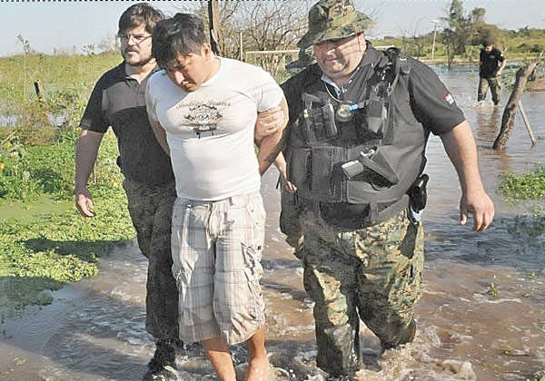 Armando Javier Rotela Ayala after his capture in July 2011