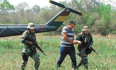 Bolivia police arrest alleged trafficker Maruo Vasquez