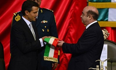 President Enrique Peña Nieto's swearing in ceremony