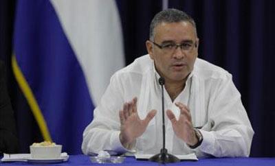 President Mauricio Funes