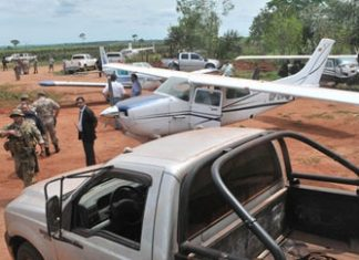 Paraguay seizing drug planes at Brazilian border