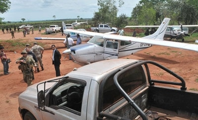 Paraguay seizing drug planes at Brazilian border