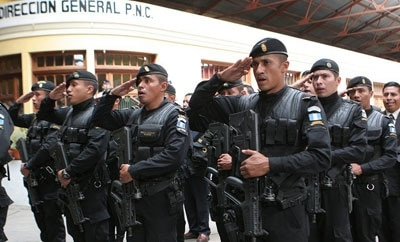 Guatemala's anti-homicide task force