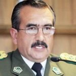 Bolivia's new chief of police, Alberto Jorge Aracena Martinez