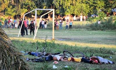A 2010 Honduras massacre