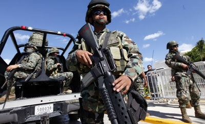 The Mexican Army will receive counter-terrorism training