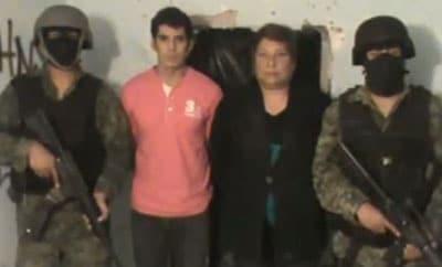 Adrian de la Torre (second left) and Julieta Calvillo (second right)