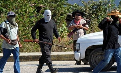 Vigilante groups in Guerrero, Mexico