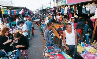 A market in Comayaguela, Honduras