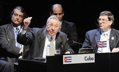 Raul Castro at the CELAC conference