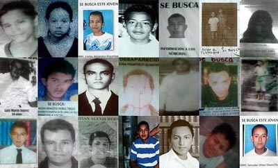 El Salvador's missing people