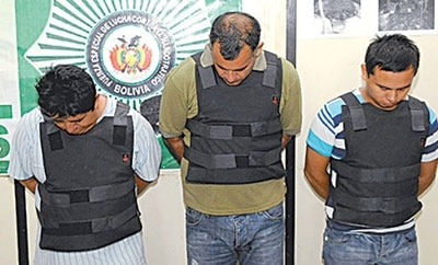 Three alleged PCC operatives arrested in Bolivia