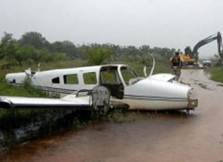 A downed narco flight in Honduras