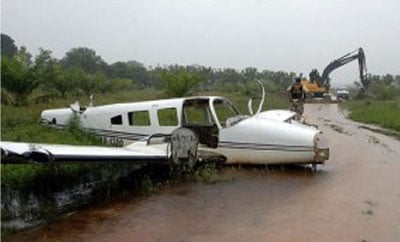 A downed narco flight in Honduras