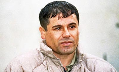 Chapo Guzman, leader of the Sinaloa Cartel