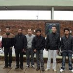 A group of Chinese citizens smuggled into Uruguay