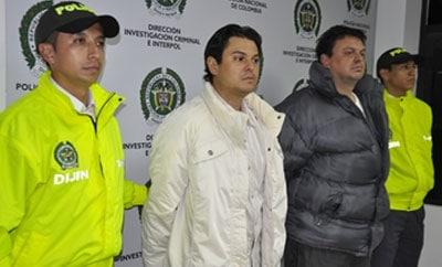 Juan Diego and John Fernando Usuga