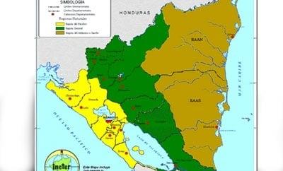 Nicaragua's RAAN and RAAS regions