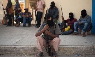 Self-defense groups in Guerrero, Mexico