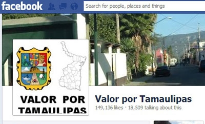 Valor por Tamaulipas has over 149,000 likes on Facebook