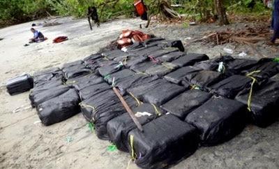 A cocaine seizure in Nicaragua's RAAN region