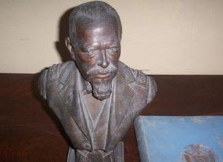 Statue of Ecuador's ex-President Eloy Alfaro