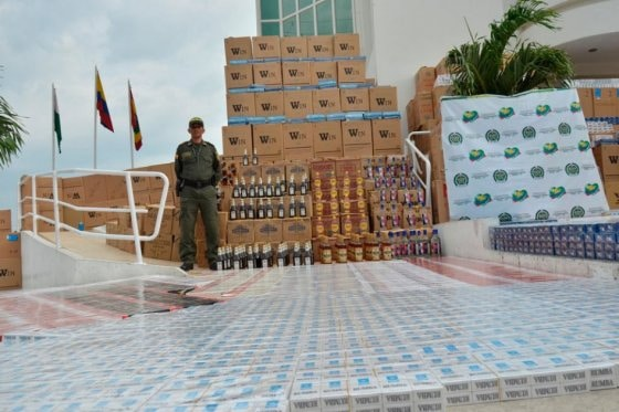 The million-dollar contraband haul