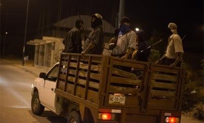 Vigilantes in Guerrero, Mexico