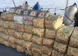 Cocaine seized off Dominican Republic coast in January