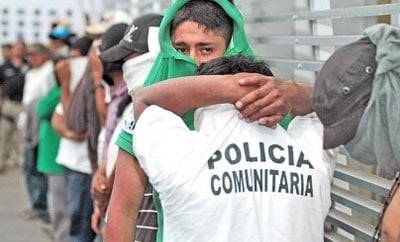 Vigilantes accused of drug cartel ties in Michoacan, Mexico