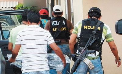 Police arrest drug trafficking suspects in Bolivia