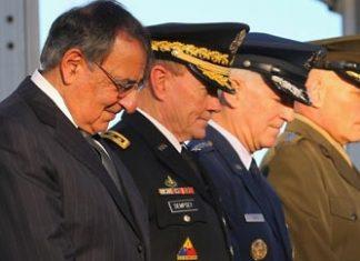 SOUTHCOM commander John Kelly, far right