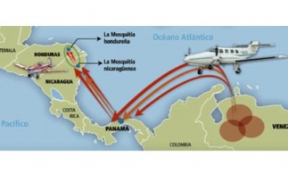 New drug flight routes through Central America