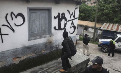 Police recover a home taken by Tegucigalpa gangs
