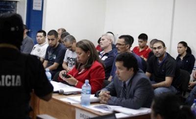Televisa case courtroom scene in Nicaragua