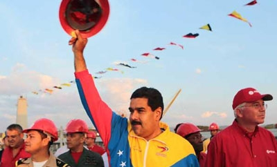 Maduro on the campaign trail