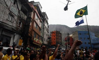 Security forces invade Rocinha favela in Rio