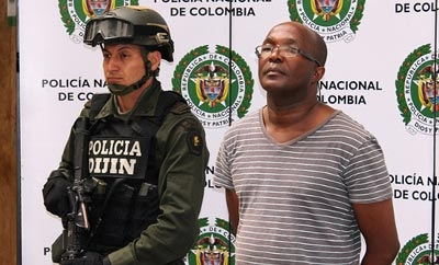 Ecuadorean trafficker Cesar Vernaza,