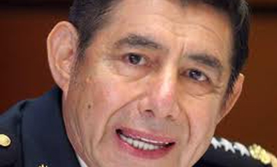 Retired Mexican army general Tomas Angeles