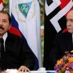 Viktor Ivanov with President Daniel Ortega