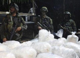 A seizure of Sinaloa Cartel methamphetamine