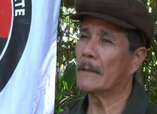 "ELN Leader Nicolas Rodriguez, alias ""Gabino"""