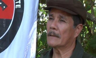 ELN Leader Nicolas Rodriguez, alias