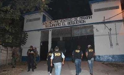 El Boqueron prison, where MS-13 leaders are held