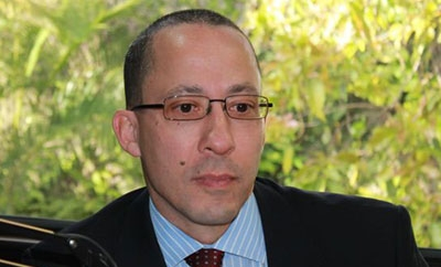 UNICEF representative Gordon Jonathan Lewis